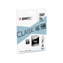32Go Emtec Micro-SD C10 + Adap - F20