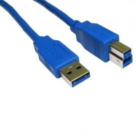 Câble USB v3 type AB - 1.8m