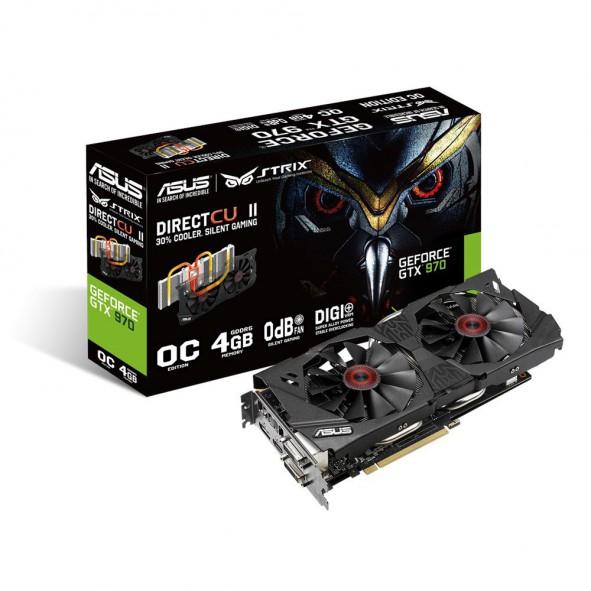 GeForce GTX970-OC Asus Strix 4Go - C4