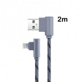 Câble USB iPhone 5/6/7/8 et iPad (8Pins) - 2m