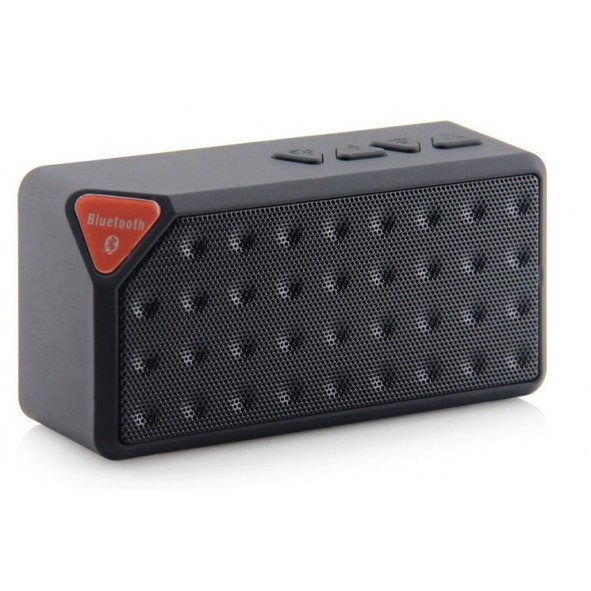 enceinte bluetooth 3en1 avec lecteur usb noir. Black Bedroom Furniture Sets. Home Design Ideas