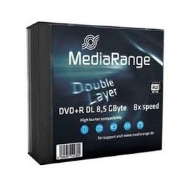 DVD+R DL MediaRange x 10 Spindle