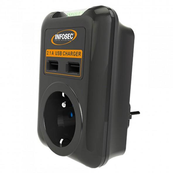 Régulateur de tension Infosec R1 - 1200VA - C2