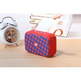 Enceinte Bluetooth T&G avec USB - Bleu/Orange