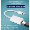 Adaptateur Lightning vers USB - C70