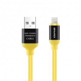 Câble USB iPhone 5/6/7/8 et iPad (8Pins) PREMIUM - 1m