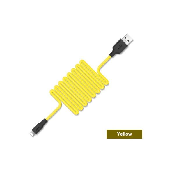 Câble Lightning PePs Jaune - 1M