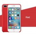 Coque iPhone 6/6S Silicone LUXE - Rouge