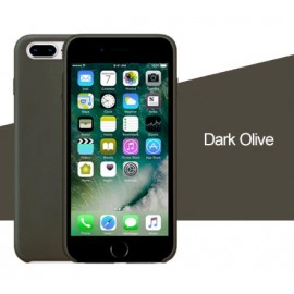 Coque iPhone 11 Silicone LUXE - Gris