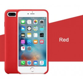 Coque iPhone 7/8 Silicone LUXE - Rouge