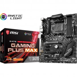 AM4 - MSI X470 Gaming Plus Max - C42