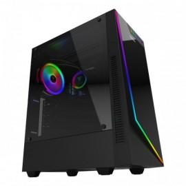Gamdias Argus E1 RGB avec vitre (Noir) - C42