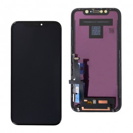 Vitre Tactile + Ecran iPhone X Noir (ColorMax edition) - C90