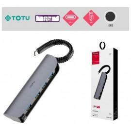 Hub USB Type-C - 4ports
