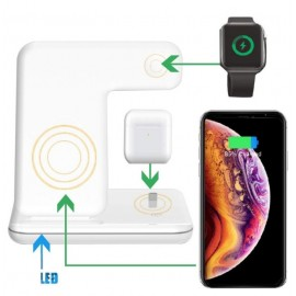 Chargeur Sans Fil 3en1 iPhone / iWatch / Airpods - C90