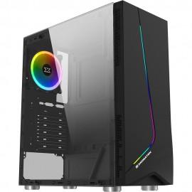 Xigmatek Eros RGB avec panneau vitré (Noir) - C42