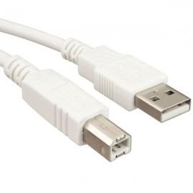 Câble USB v2 type AB - 1.8m