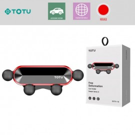 Support voiture magnétique noir TOTU - C90