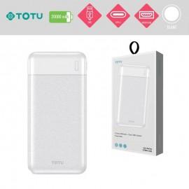 PowerBank induction 10000 mAh blanc TOTU - C90