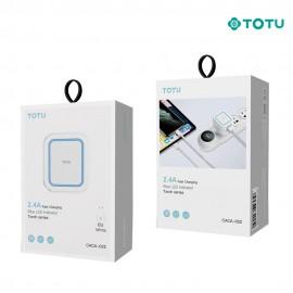 Chargeur secteur 12W 2 USB TOTU - C90