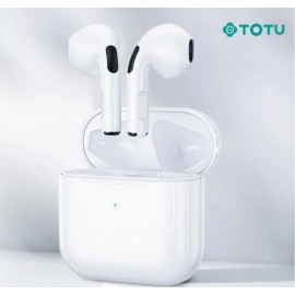 Ecouteurs Bluetooth Blanc TOTU - C90