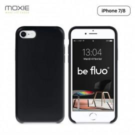 Moxie Coque iPhone 7/8/SE 2020 BeFluo Coque Silicone