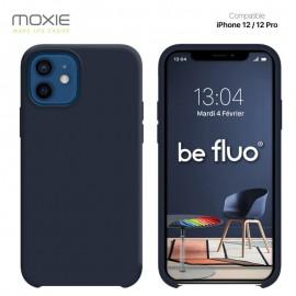 Coque iPhone 12 / 12 PRO souple carbon
