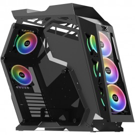 Xigmatek Zeus RGB avec panneau vitré (Noir) - C42