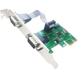 Carte PCI vers Serie RS232 - C2