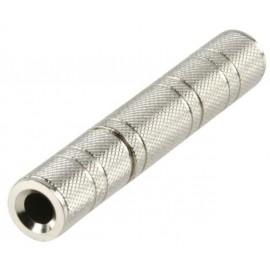 Adaptateur audio Jack 6.35 mm mâle / 3.5 mm femelle