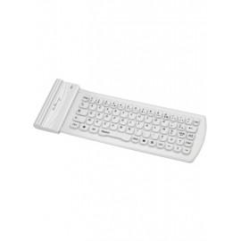 Clavier sans fil Bluetooth Bluestork (Blanc) - C42