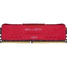 DDR4 Crucial Ballistix Rouge RGB - 16Go (2x8Go) 3000MHz - C15 - F31