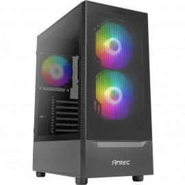 Antec NX410 RGB avec panneau vitré (Noir) - C42