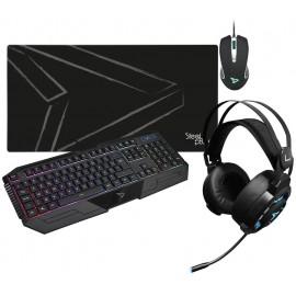 Pack 4en1 SteelPlay Gaming PC RGB - C42