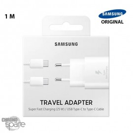 Chargeur secteur Samsung FAST CHARGE Type C / 25W - C90