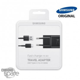 Chargeur secteur Samsung FAST CHARGE Type C / 15W - C90
