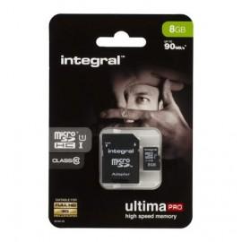 8Go Integral Ultimate Pro Micro-SD C10 - F42