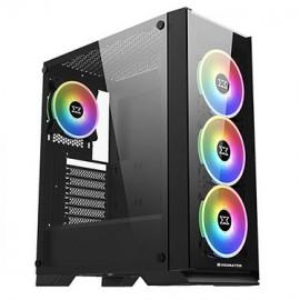 Xigmatek Sirocon III RGB avec panneau vitré (Noir) - C42