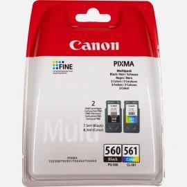Canon PG-545/CL-546 M/Y/C/BK (Pack couleur et noir)