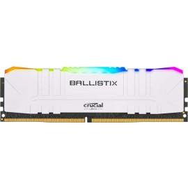 DDR4 Crucial Ballistix White RGB 8Go 3200MHz - C16 / F2