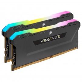 DDR4 Corsair Vengeance RGB PRO Noir - 16 Go (2 x 8 Go) 3600 MHz - CAS 18 - F2