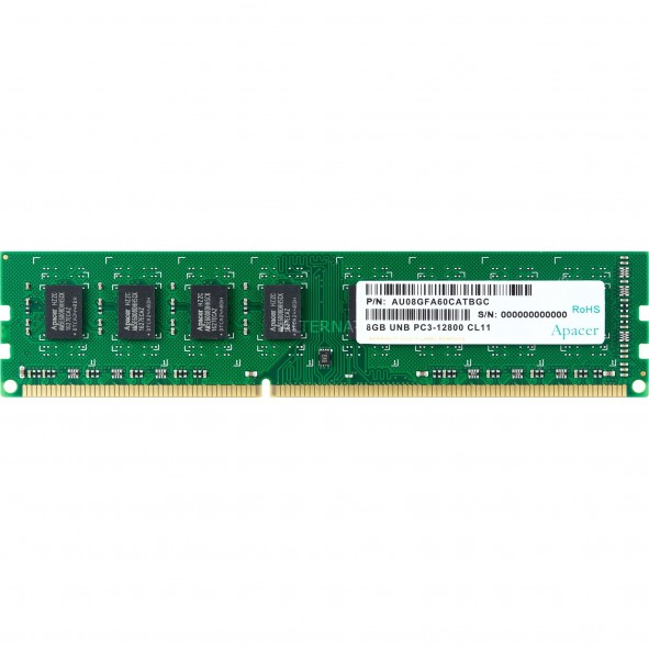 DIMM DDR3 APACER 8Go 1600Mhz - F42