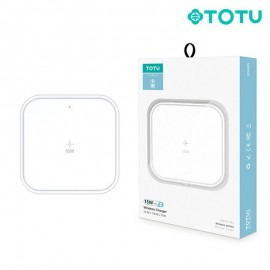 Chargeur induction Type-C 15W blanc TOTU (CACW-024) - C90