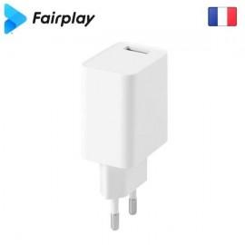 Chargeur secteur 5W 1USB FAIRPLAY - C105