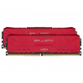DDR4 Crucial Ballistix Red - 16Go (2x8Go) 3600MHz - C16 - F3