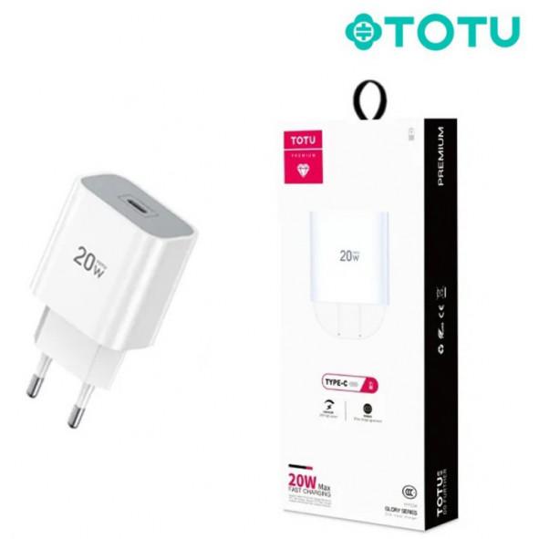 Chargeur secteur 20W Type-C TOTU (CACQ-010) - C90
