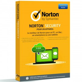 Norton Internet Security 2015 1an/1poste