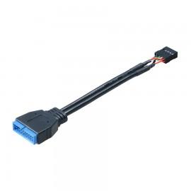 Adaptateur interne USB 3.0 mâle / USB 2.0 femelle