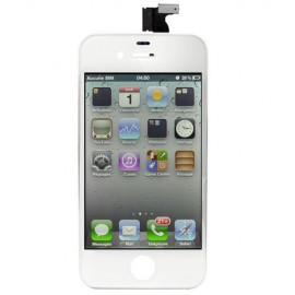 Vitre Tactile + Ecran iPhone 4 Blanc