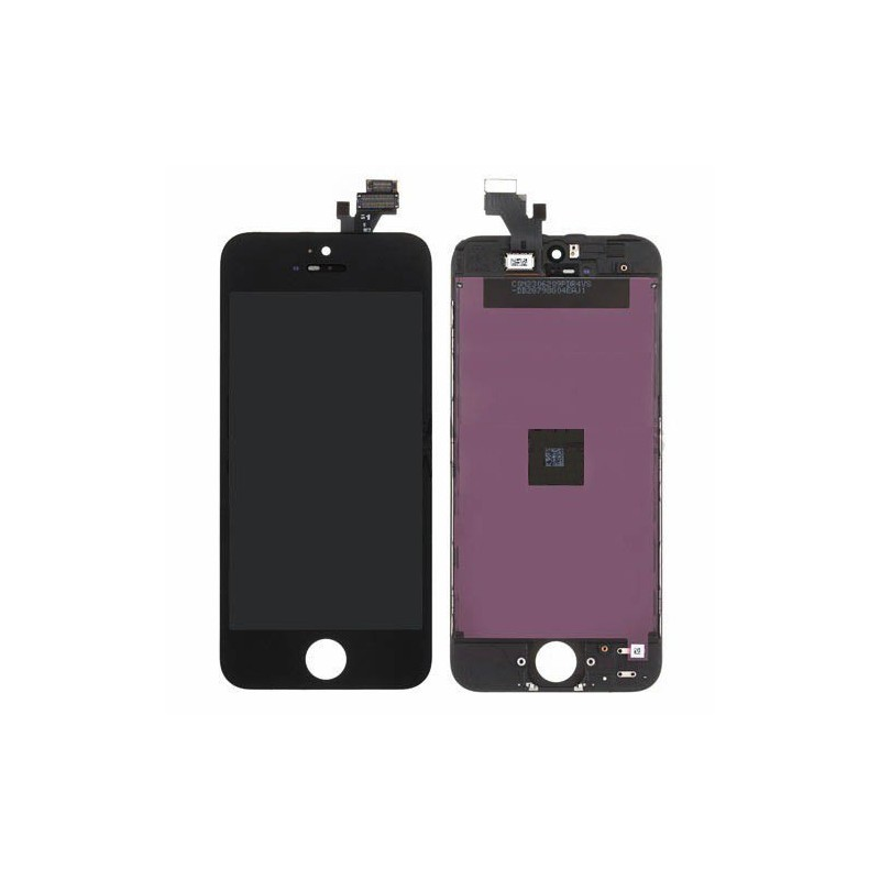 Vitre tactile ecran iphone 5 noir c71 for Ecran photo noir iphone 5